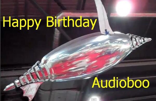 Audioboo Birthday