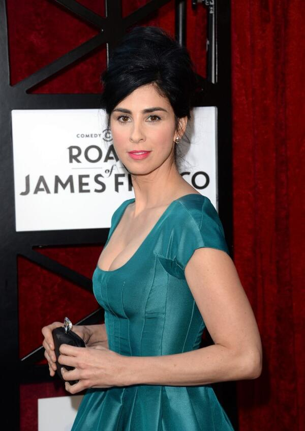 sarah-silverman-at-comedy-central-roast-of-james-franco-in-culver-city 1