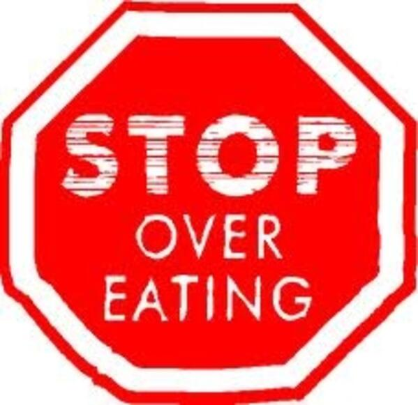 stop over eating