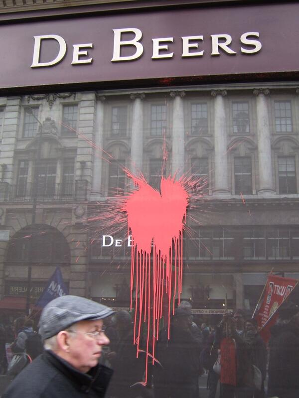 London Demo De Beers