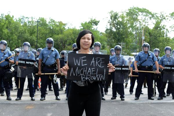 We are Michael Brown UPI-David Broome