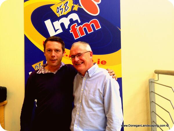 peter donegan garden radio gerry kelly late lunch lmfm 2