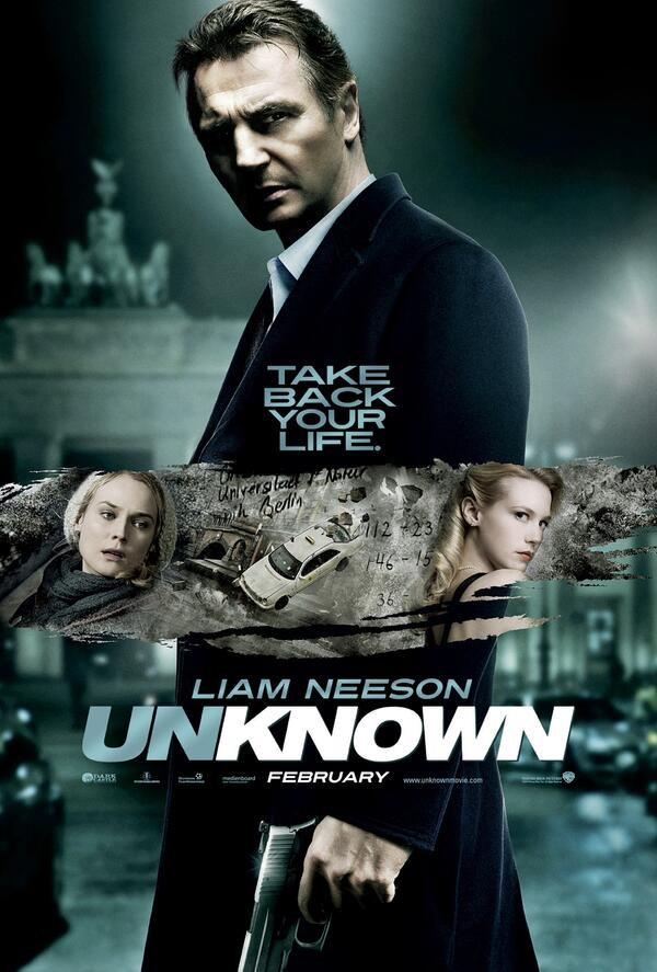 unknown movie poster liam neeson