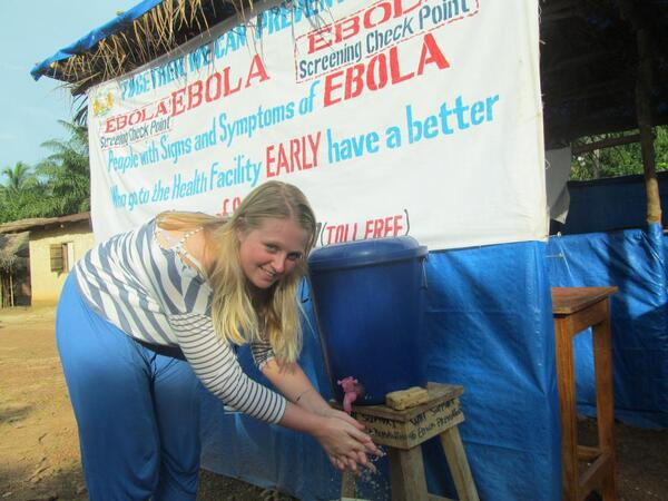Holly Taylor in Liberia