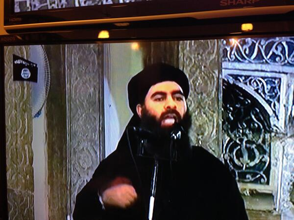 ABU BAKR AL BAGHDADI MOSUL JULY 5TH