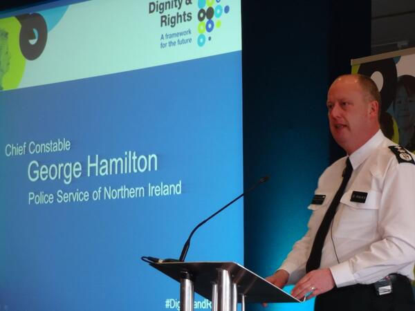 PSNI Chief George Hamilton 3x2