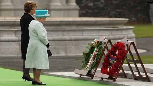 Queen Elizabeth II Ireland 2011