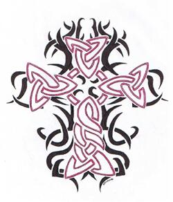 tribal-cross-tattoo-design