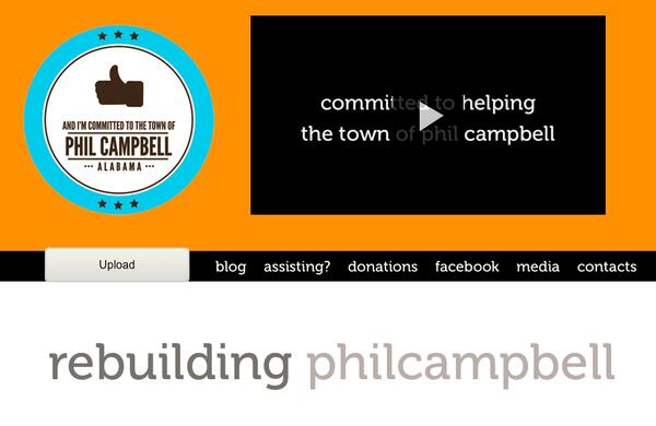 philcampbell relief effort june 2011 - raising awareness and money for the town of phil campbell - nion for the phil campbells of the world but a fundraiser to assist phil campbell to rebuild the town