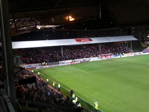 Red Shed at Tannadice n