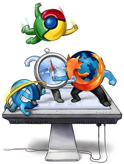Web-Browser-War