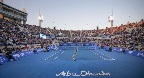 Capacity crowds watch Nadal v Murray