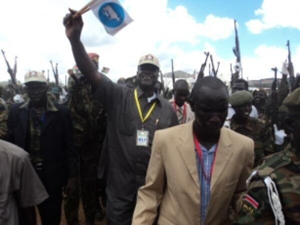 Governor Kuol in Jonglei