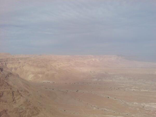 Israeli desert view from Masada KER 2008