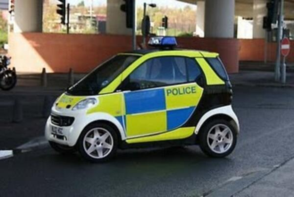 Smart police car