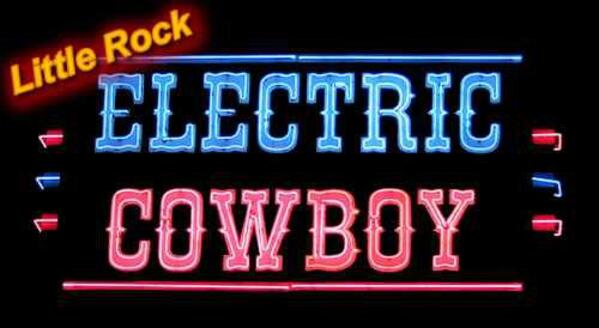 Electric Cowboy Little Rock Banner 1