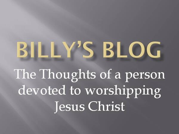 Billy s Blog Splash