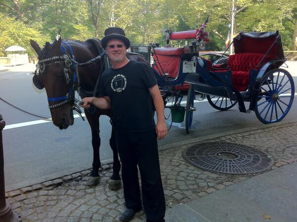 central park horses - colm and danny boy