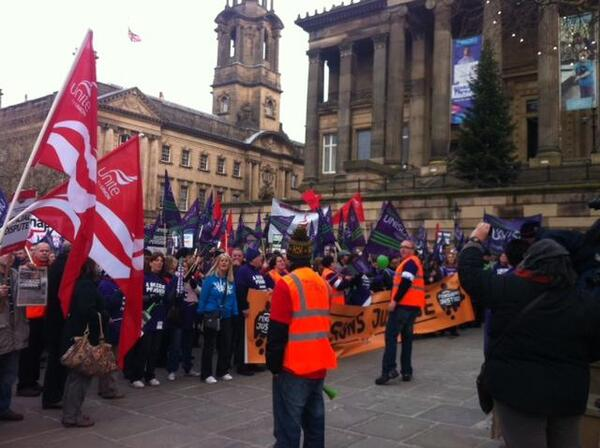 Strike 30 Nov 2011 Preston