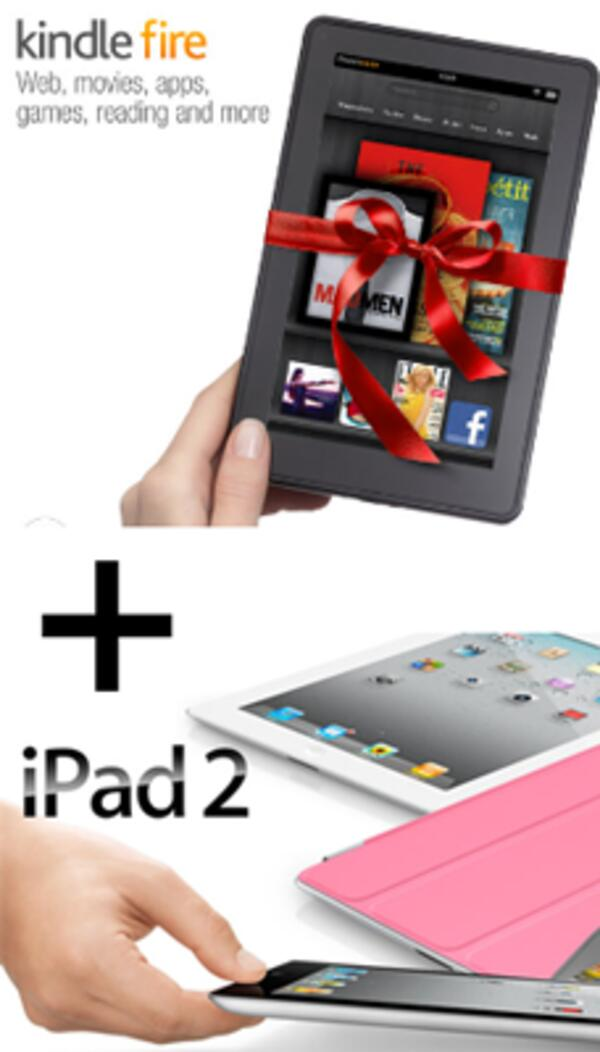 ipad2 kindle-fire