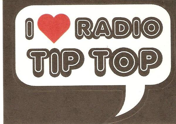 I Love Radio Tip Top sticker