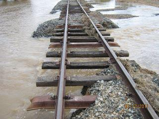flood train tracks