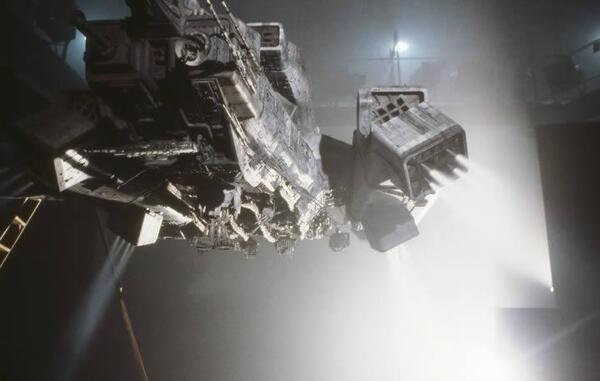 Nostromo landing engines CO2 gas