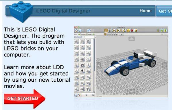 LEGO Digital Designer Virtual Building Software