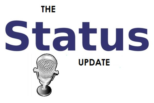 The Status Update logo