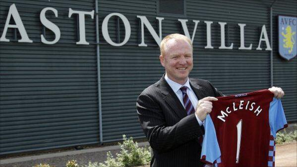 Aston Villa Alex Mcleish