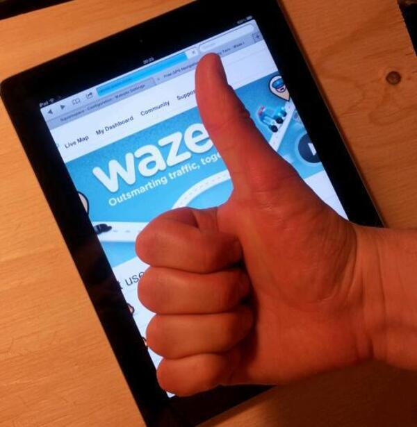 Thumb waze
