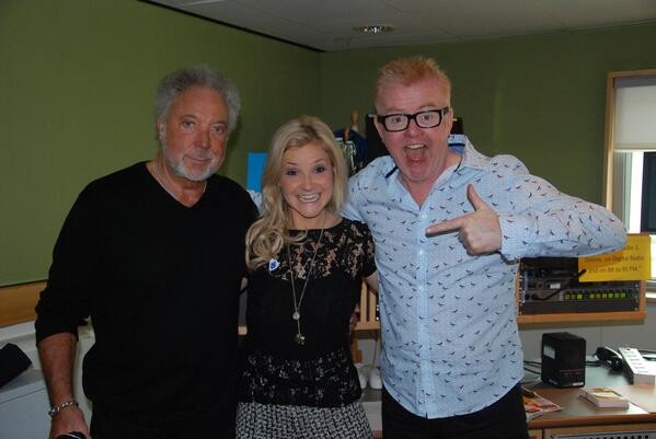 Tom Jones Helen Skelton