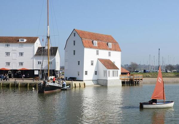 The restored Woodbridge Tide Mill