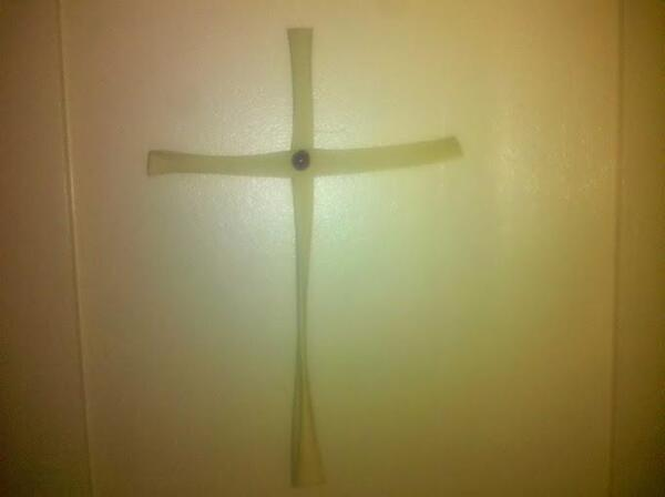 The Palm Sunday Cross 2012