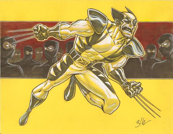 Wolverine by WilliamBlankenshipJr