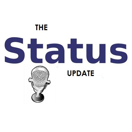 The Status Update logo square