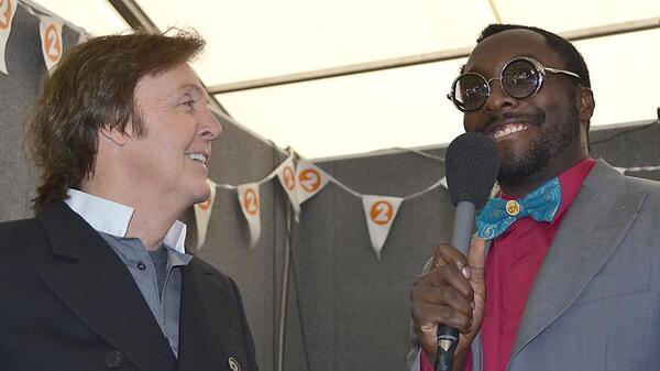 will.i.am and sir paul