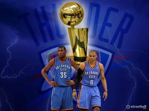 OKC Thunder NBA Finals 2012 Wallpaper