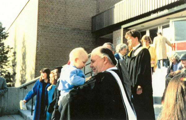 Brook Zee at graduation 1986
