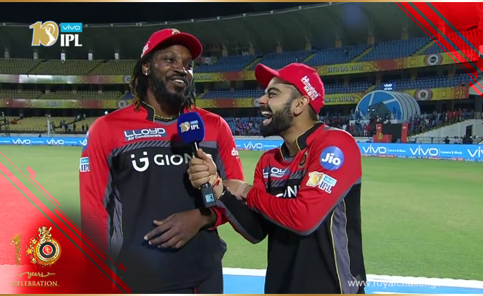 RCB Radio: The Secret Behind Chris Gayle's Sixes!
