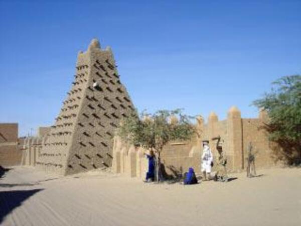 Timbuktu Mosque Sankore