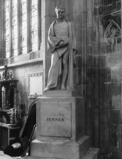 Edward Jenner Statue Gloucester Cathedral