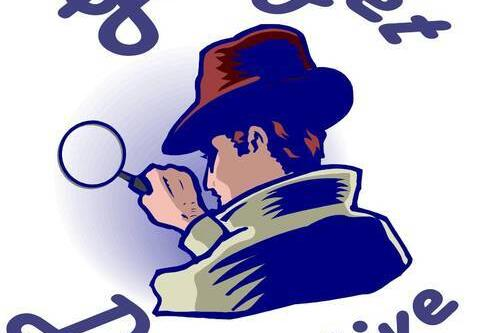 Undercover detective clipart