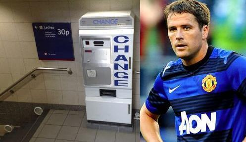michael owen takes the piss