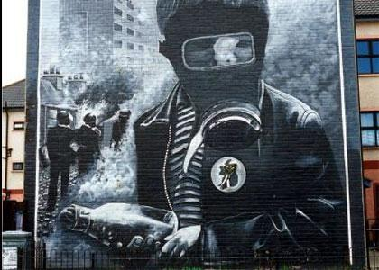 troubles mural