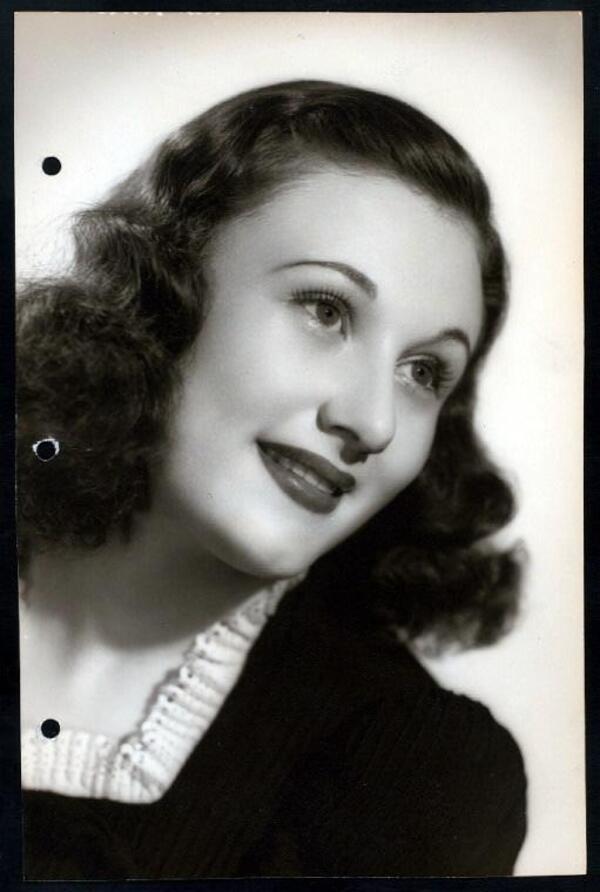 early Shirley eder portrait