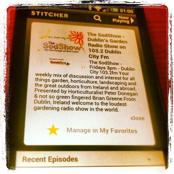 the sodshow stitcher