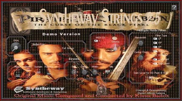 Syntheway Strings Hes-A-Pirate-End-Title-Pirates-Of-The-Caribbean-The-Curse-Of The Black Pearl