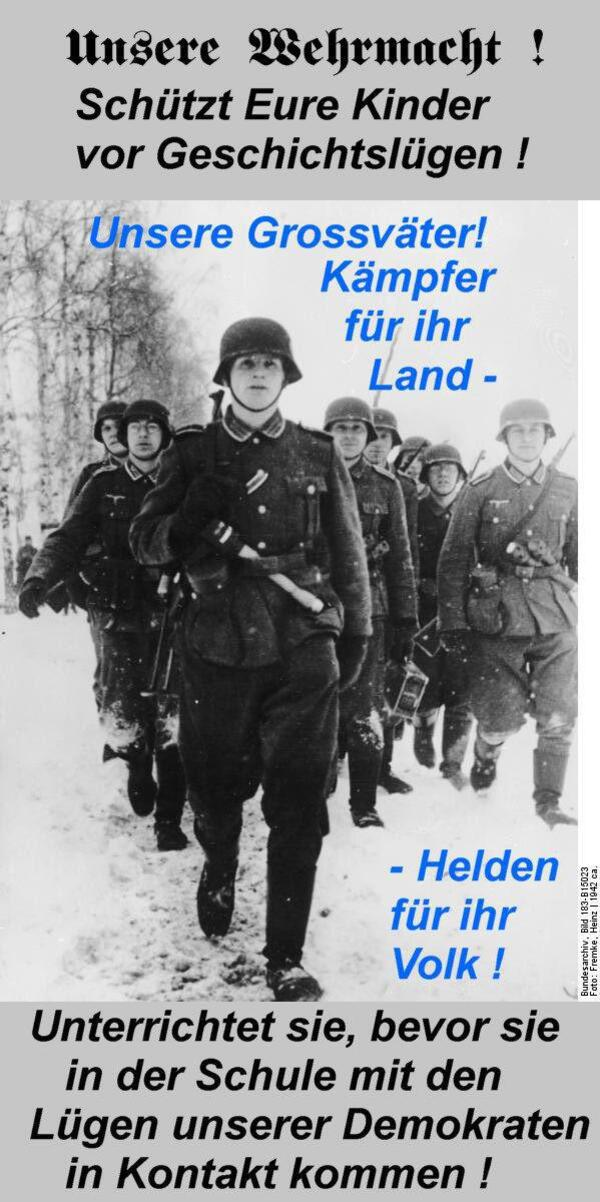 Unsere Wehrmacht . .