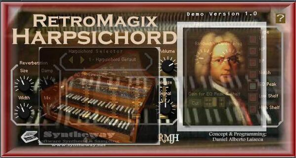 RetroMagix Harpsichord Johann Sebastian Bach Themes